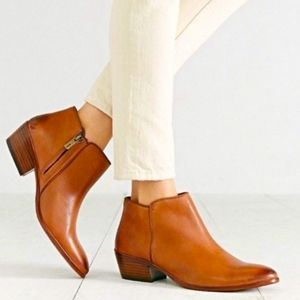 Sam Edelman Boots Brown Ankle Booties 5.5 Leather